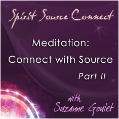 Meditation: connect woth source part II
